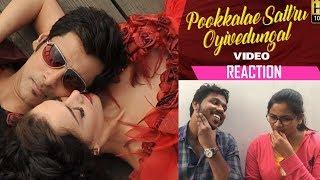 "Cover images Pookkalae Sattru Oyivedungal - "" I "" Video Reaction by Malayalees | A. R. Rahman | Vikram | Shankar"