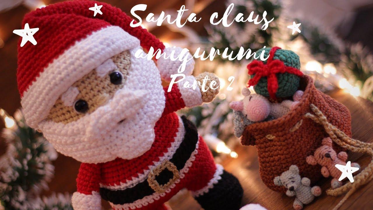 Un Papá Noel Gigante!! en crochet | Otakulandia.es | 720x1280