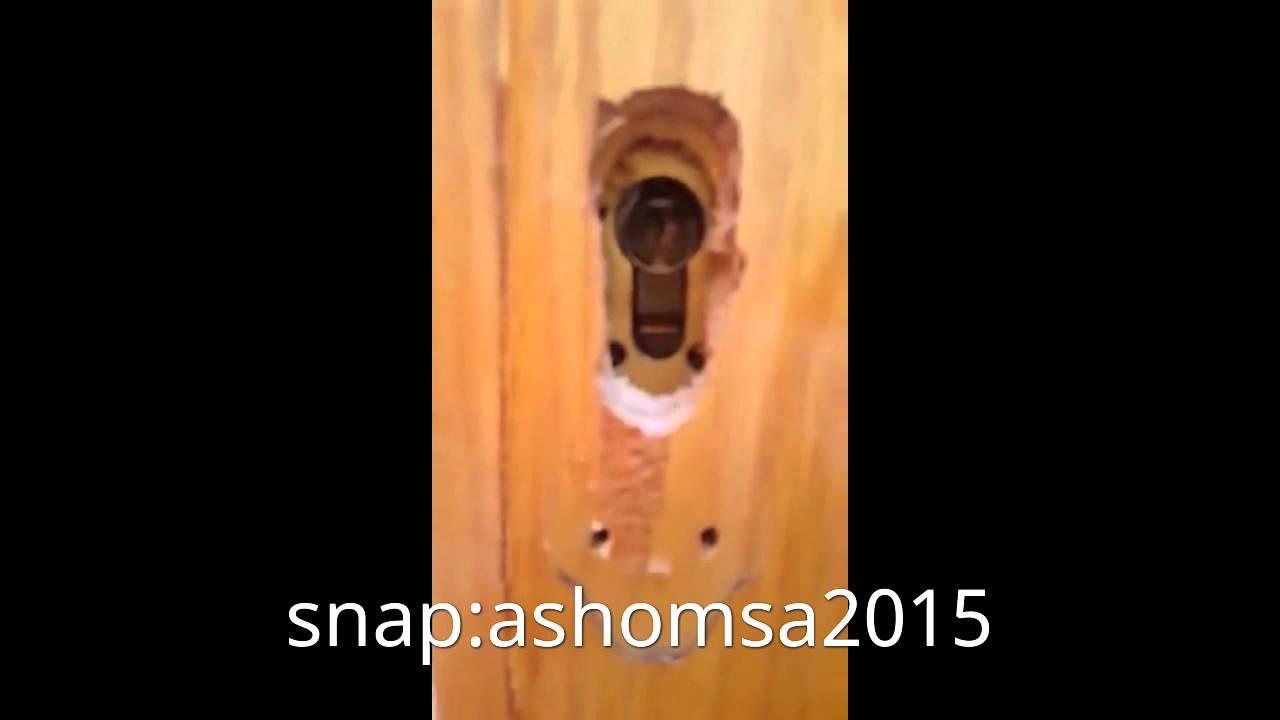 طريقة فتح الباب المقفل على الطفل Youtube