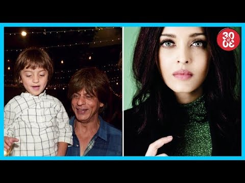 AbRam Thinks Big B Is SRK's Papa, Aishwarya Rai's Noble Gesture