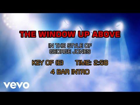 George Jones - The Window Up Above (Karaoke)