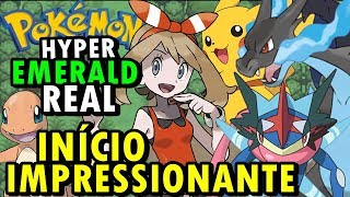 Pokemon Hyper Emerald Real (Hack Rom - GBA) - O Início Grandioso