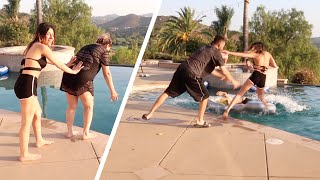 SHE REALLY DID THIS TO HER!! (Double prank)