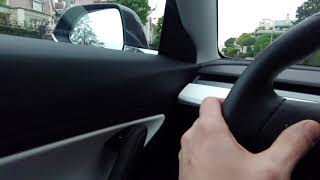Tesla Model 3 Performance Test Drive in Century City, CA