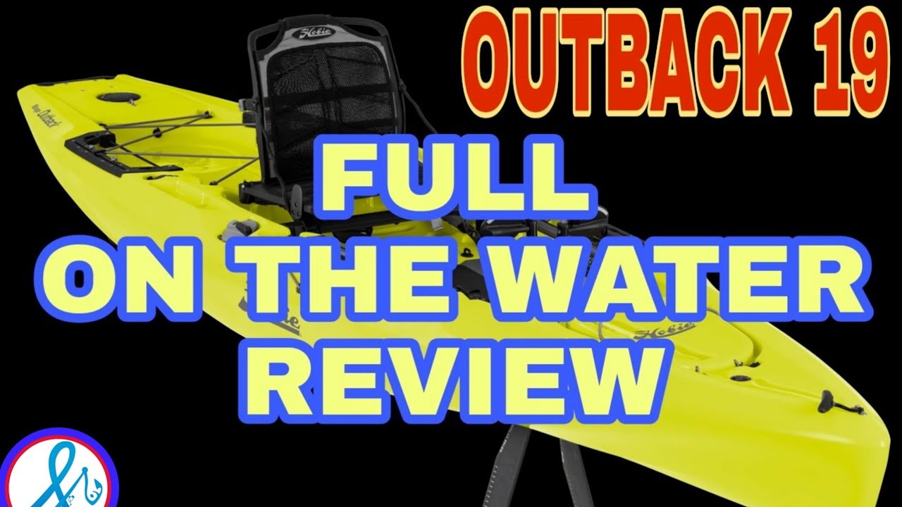 The BEST Fishing kayak EVER!? Hobie Outback 2019 REAL REVIEW NO B