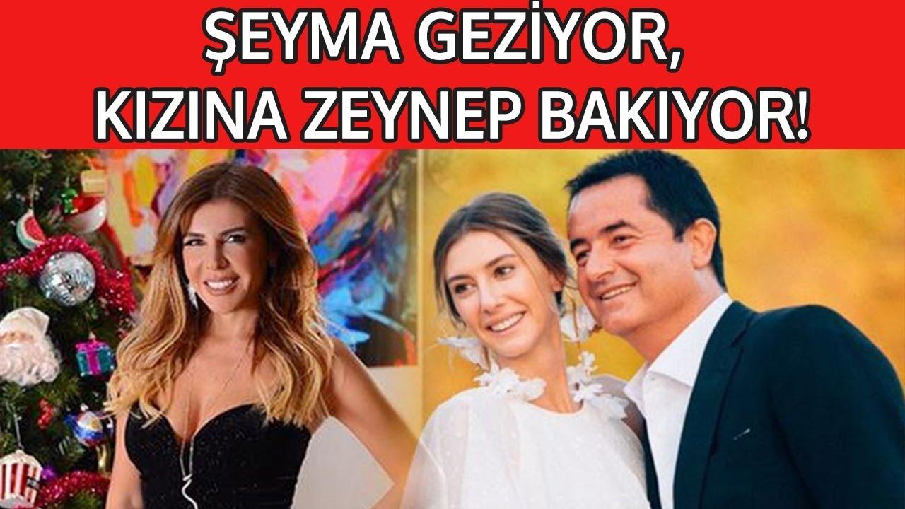 ŞEYMA GEZİYOR, KIZINA ZEYNEP BAKIYOR!
