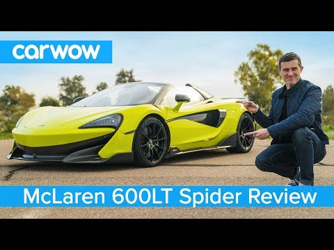 McLaren 600LT Spider 2019 FULL review - and see why its great for toasting marshmallows!