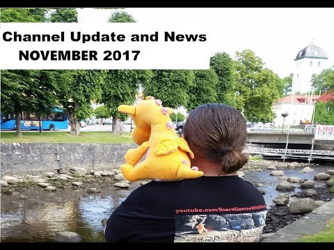 Channel Update and News - November 2017