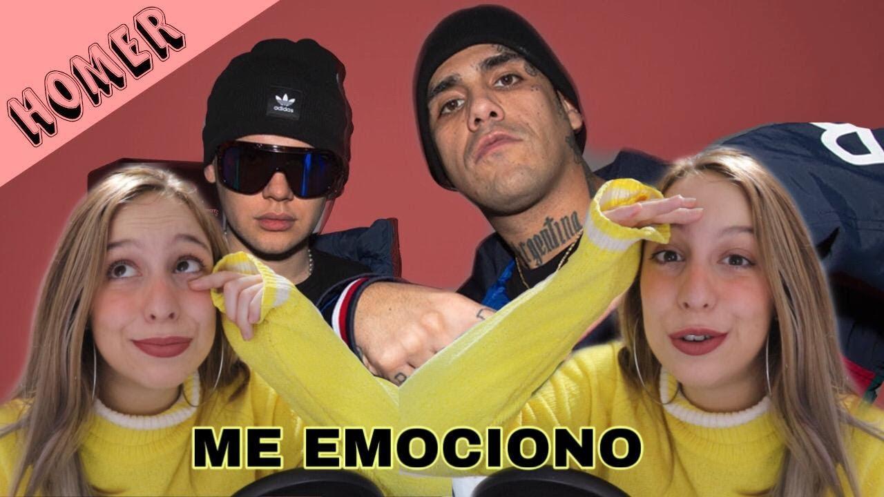 REACCIONANDO a HOMER EL MERO MERO - BZRP Music Sessions #30 / Valentina Soca