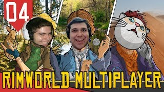 Domestiquei um Thumbo Raro! - Rimworld Multiplayer #04 [Série Gameplay Português PT-BR]