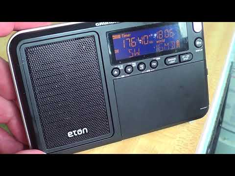 African Pathways Radio via Madagascar 17640 Khz Shortwave on Eton Traveller III Grundig Edition
