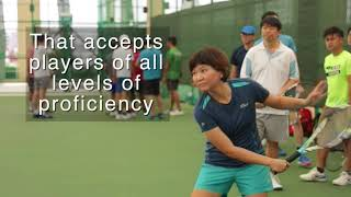 Rovo, the official app of the Singapore Tennis Festival, conducted ...
