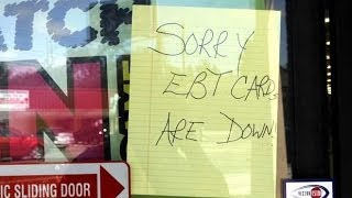 America : EBT System goes down in 17 states, while people threaten mass riots (Oct 13, 2013)