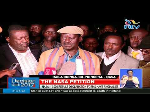 NASA is asks the Supreme Court to nullify Uhuru Kenyatta's win