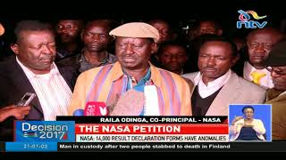 NASA asks Supreme Court to nullify Uhuru Kenyatta's win