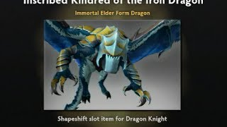Unboxing 10 Immortal Treasure TI4 ( Strongbox )  - Kindred of the Iron Dragon 2014