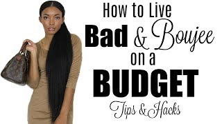 bad and boujee on a budget   real tips hacks brittany daniel