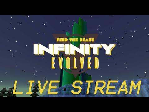 Minecraft: FTB Infinity Evolved - Live Stream 7 - Twilight Forest - Pt.6 - ICE KING!