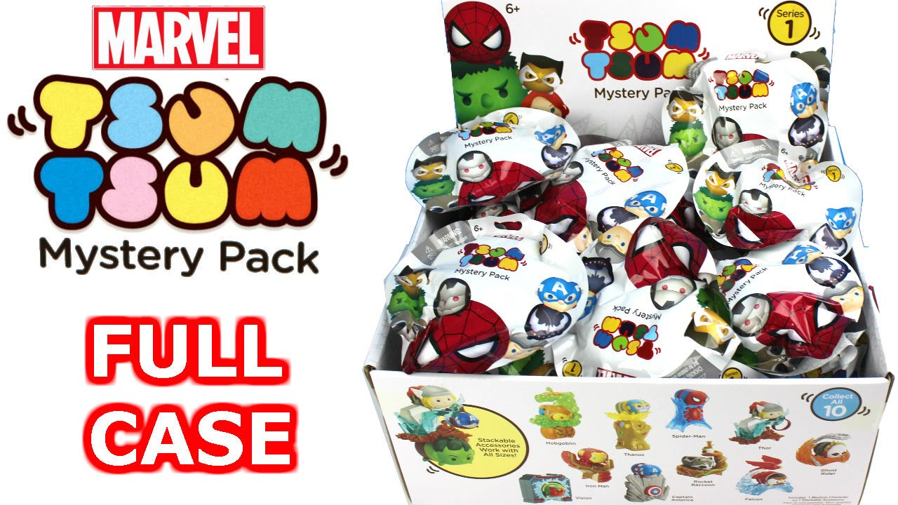 Marvel Tsum Tsum Mystery Stack Pack Series 1 Blind Bag