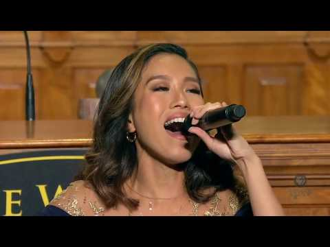 PINOY PRIDE Rachelle Ann Go gets STANDING OVATION at the 2019 World Food Prize