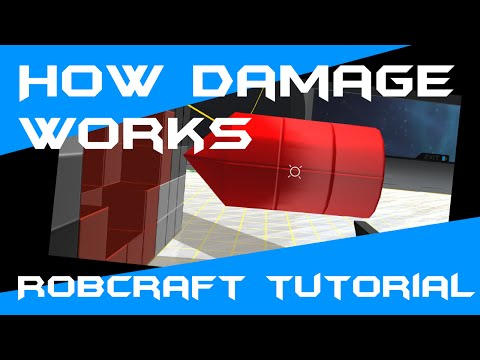 How damage works in Robocraft