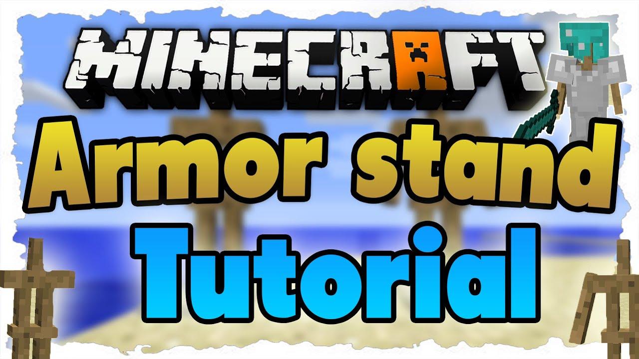 Minecraft Armor Stands MINECRAFT Tutorial Ständer Mit Armen - Minecraft wiki spielerkopfe