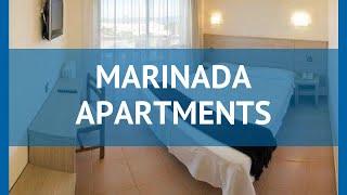 MARINADA APARTMENTS 2* Коста Дорада обзор – отель МАРИНАДА АПАРТМЕНТС 2* Коста Дорада видео обзор