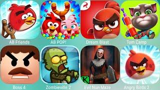 Angry Birds 2,My Talking Tom 2,TomCat,All Tom,Friends,StarWars,Transformers,Evolution,Spake,Blast,