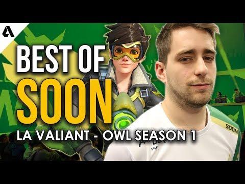 Best Plays of LA Valiant SoOn | Overwatch League Season 1