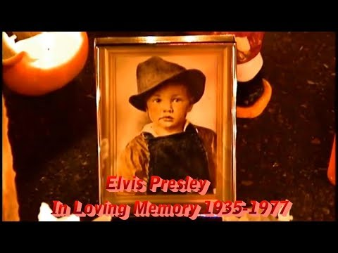 """""""From Graceland To The Promised Land"""" Elvis Presley In Loving Memory 1935 -1977"""