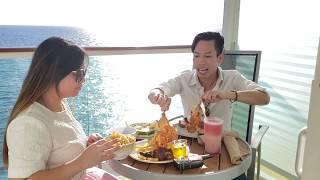 ✔315-ăn sáng ngoài ban công ngắm biển
