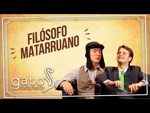 Gato Fedorento - Filósofo Matarruano