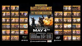 [PUBG] PlayerUnknown's Battlegrounds Charity Invitational - Game 1 NA