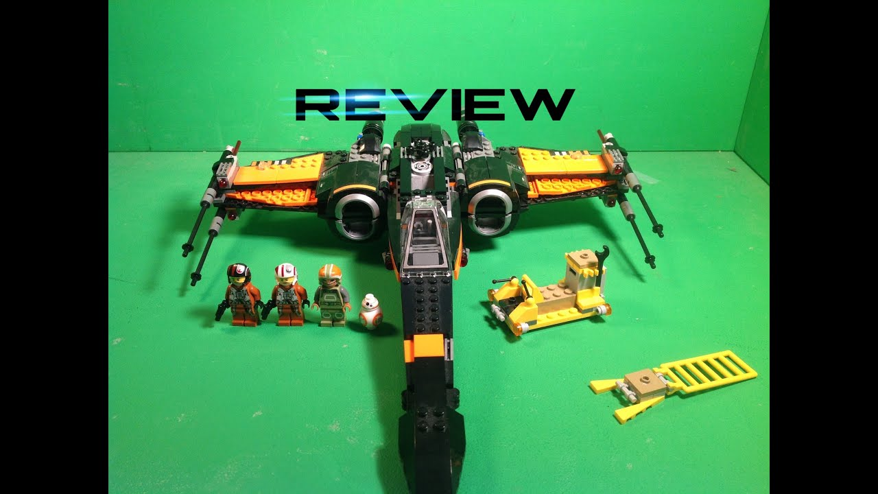 Lego Star Wars Poes X Wing Fighter Review 75102 Youtube Poeamp039s