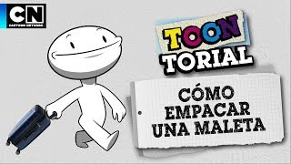 Cómo empacar una maleta | Toontorial | Cartoon Network