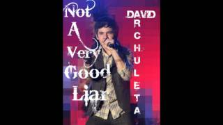 David Archuleta - Not A Very Good Liar - NEW SONG 2010!!!! (lyrics and download)