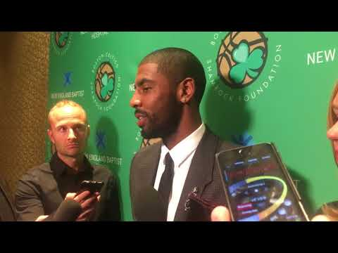 Kyrie Irving on Celtics-Cavs Opening night Game: