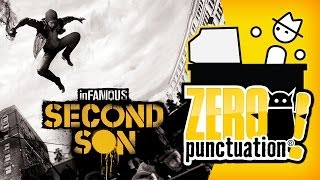 INFAMOUS SECOND SON (Zero Punctuation) (Video Game Video Review)