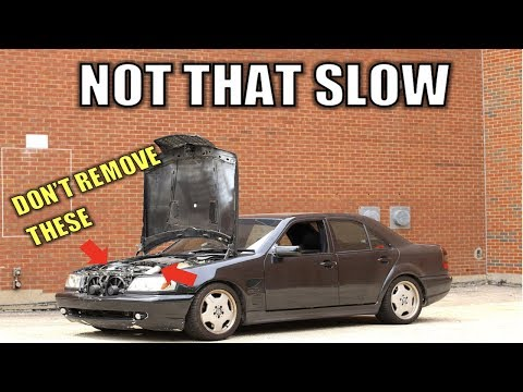 Here's Why Your 0-60 MPH Time May Suck Compared To The Magazines + C43 AMG Results After One Repair