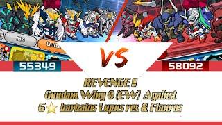 LINE GUNDAM WARS : REVENGE BATTLE ARENA Wing Gundam 0 (EW)