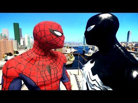 Spiderman VS Black