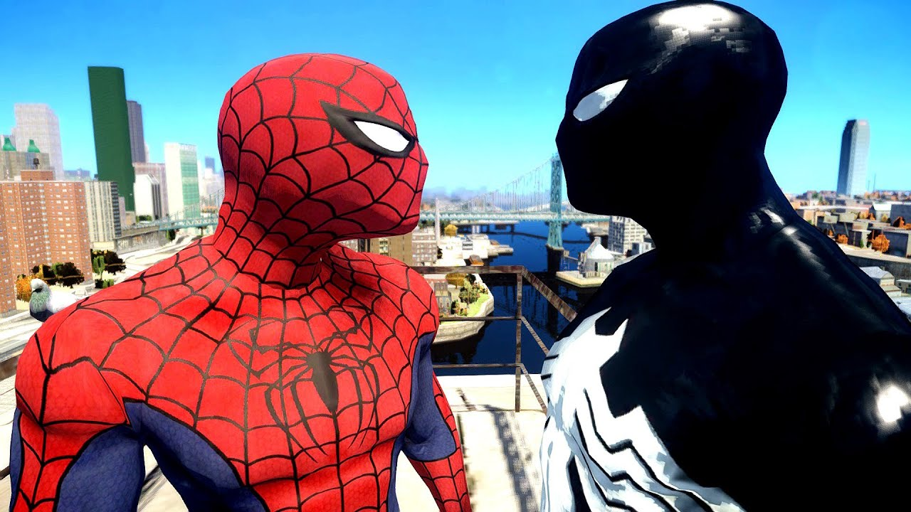 Spiderman vs black spider man youtube - Images de spiderman ...