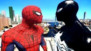 Spiderman VS Siyah Örümcek-Adam