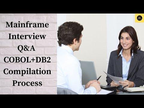 Mainframe - TUTORIAL - COBOL + DB2 COMPILATION PROCESS