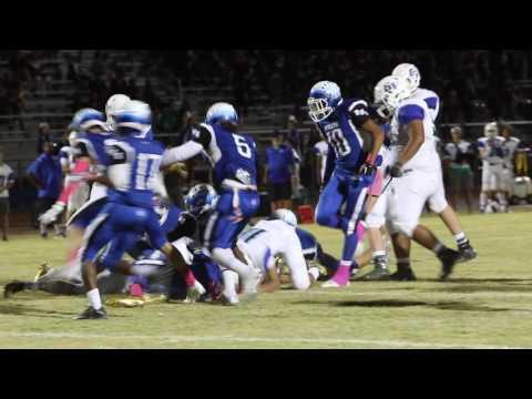 Green Valley High School football team vs. Basic High School football team