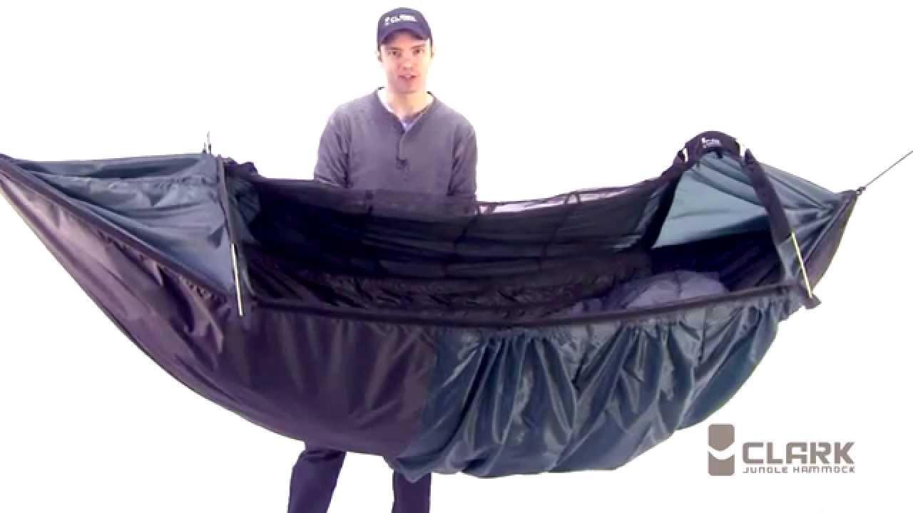 clark nx 270 four season camping hammock   youtube  rh   youtube