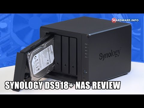 Synology DS918+ NAS review - Hardware.Info TV (4K UHD)