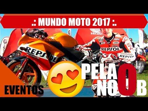 MUNDO MOTO CHILE 2017 - MOTOVLOG - CB190R - CHILE - #17