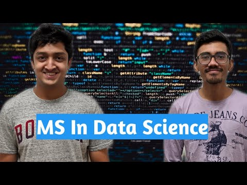 MS In Data Science | Salary | Jobs | Course | University Shortlisting Everything Explained