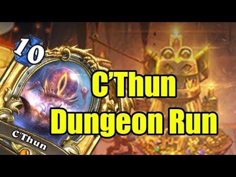 Hearthstone Dungeon Runs: The Great C'Thun Run